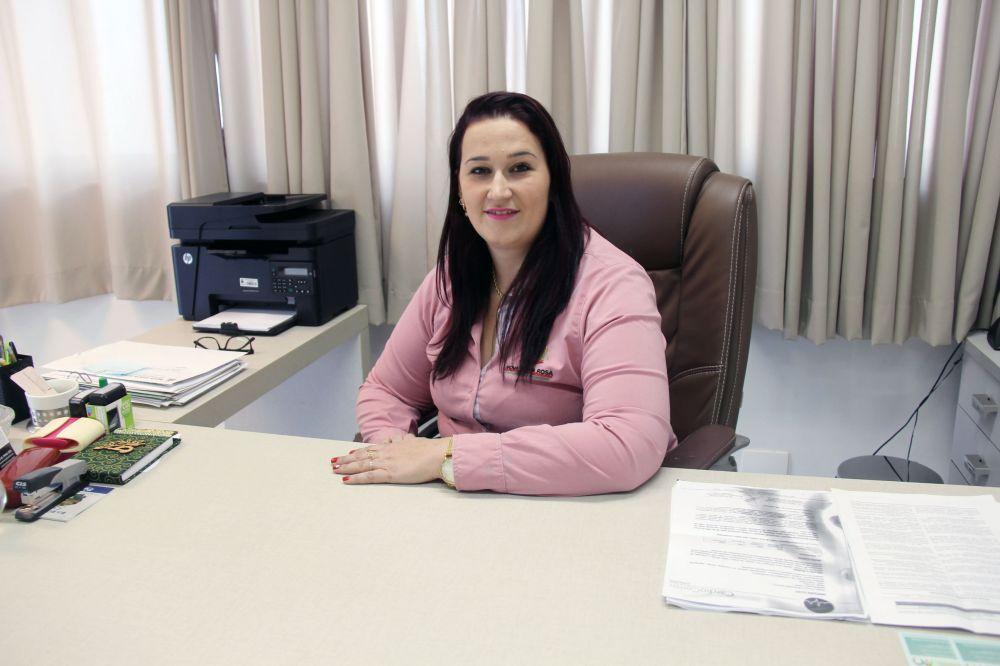 Secretária de saúde Ligia Rambo